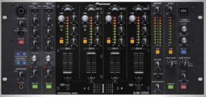 Professional DJ, Mixer