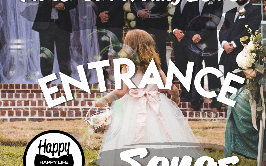 flower girl wedding entrance songs